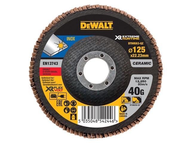 FlexVolt XR Flap Disc 125mm 40G