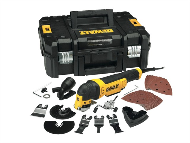 DWE315KT Multi-Tool Quick Change Kit & TSTAK 300W 240V
