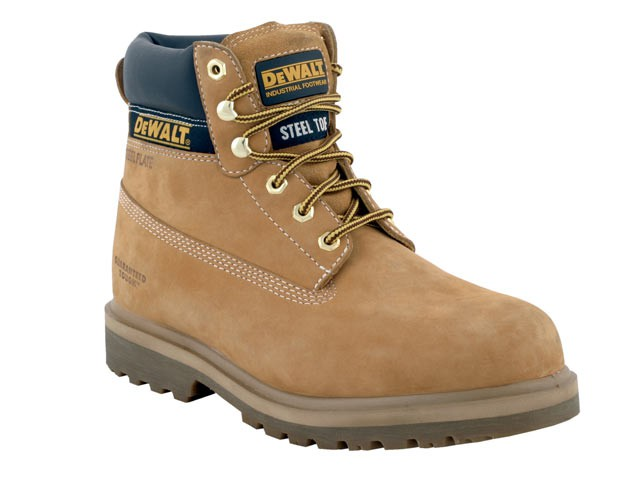 Explorer Safety Honey Nubuck Boots UK 8 Euro 42