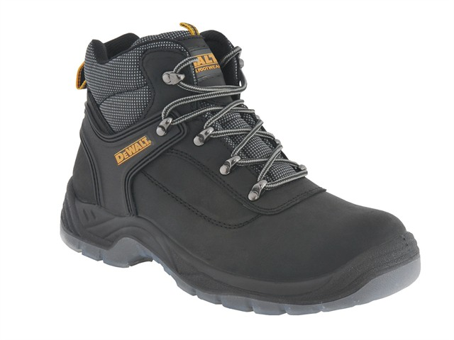 Laser Safety Hiker Black Boots UK 8 Euro 42