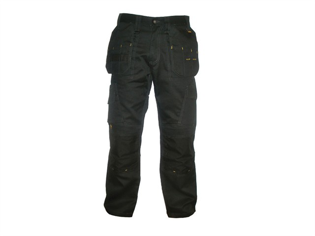 Pro Tradesman Black Trousers Waist 42in Leg 29in