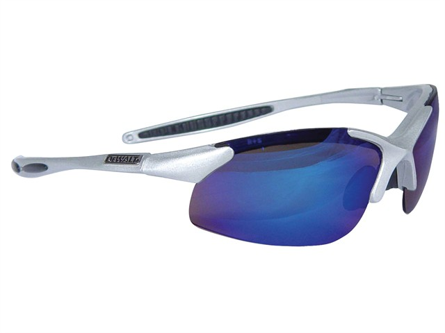 Infinity™ Safety Glasses - Blue Mirror