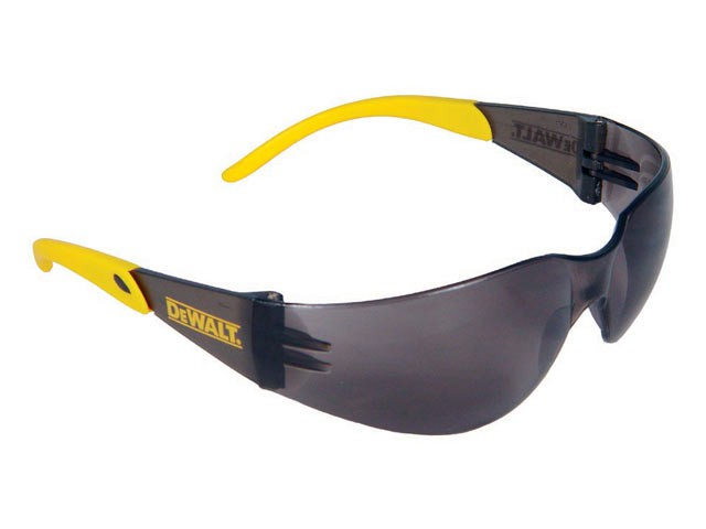 Protector™ Safety Glasses - Smoke