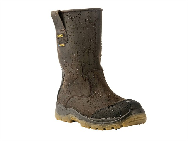 Tungsten S3 Rigger Brown Boots UK 9 Euro 43