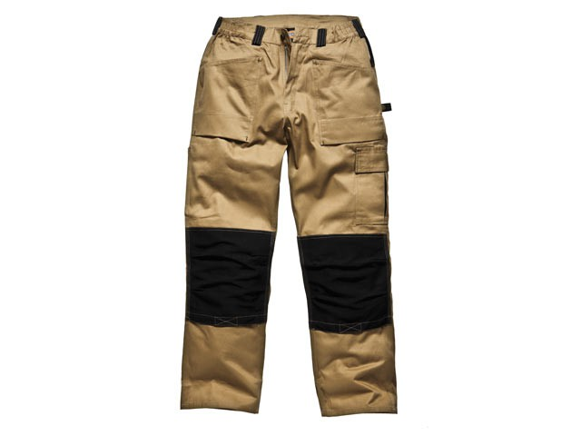 GDT290 Trouser Khaki & Black Waist 38in Leg 33in