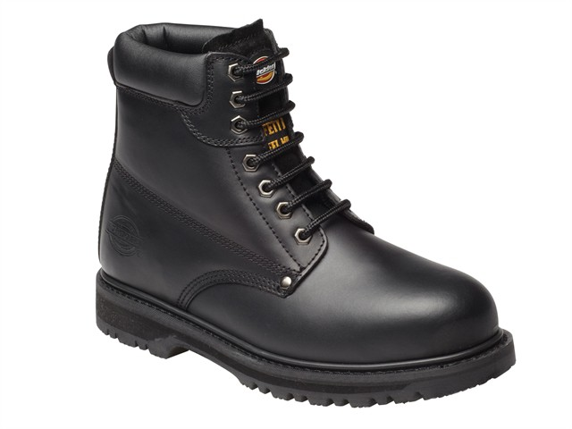 Cleveland Black Super Safety Boots UK 6 Euro 40