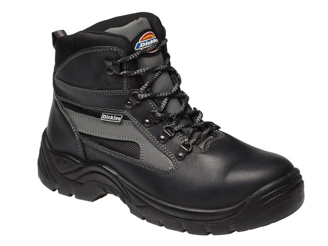 Severn S3 Super Safety Black Boots UK 8 Euro 42