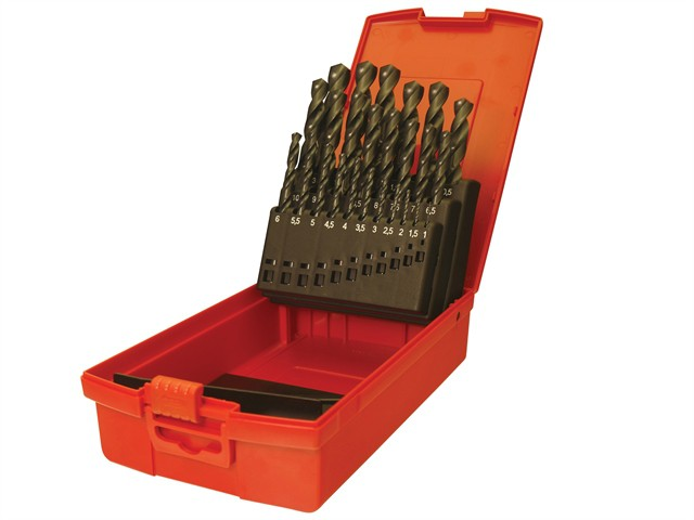 A190 No.12 Number HSS Drills Set of 60