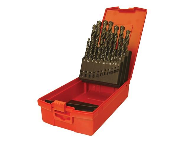 A190 No.202 Metric HSS Drill Set of 51 1.0-6.0 x 0.1mm