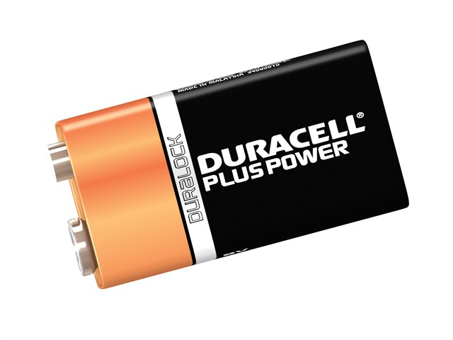 9V Cell Plus Power Battery Pack of 1 MN1604/6LR6