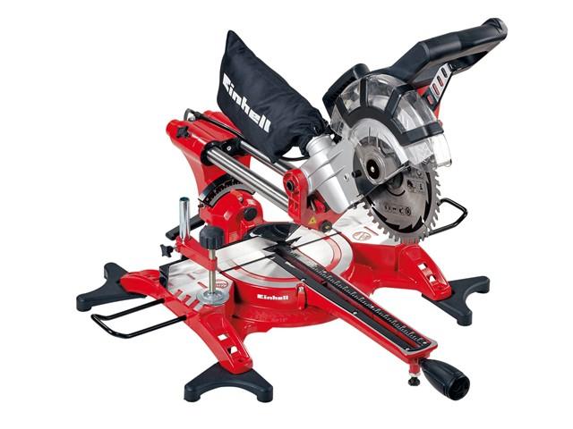 TC-SM 2131 Dual Sliding Mitre Saw & Laser 210mm 1800W 240V