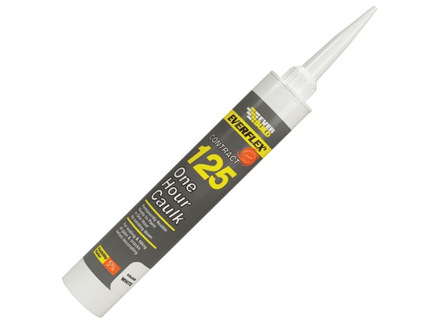 One Hour Caulk 125 White 310ml