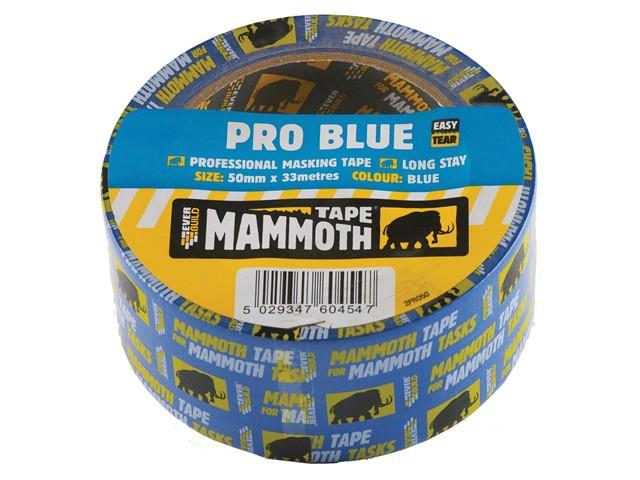 Pro Blue Masking Tape 50mm x 33m