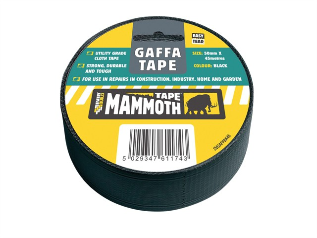 Gaffa Tape Black 50mm x 45m