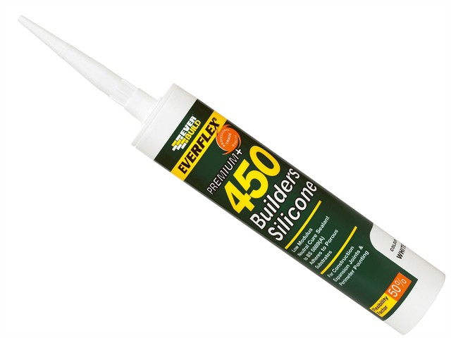 450 Builders Silicone Sealant Buff 310ml