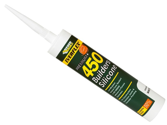 450 Builders Silicone Sealant Black 310ml