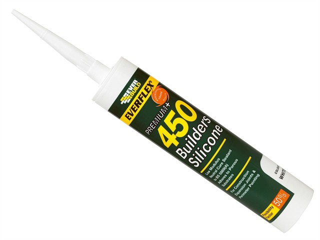 450 Builders Silicone Sealant Brown 310ml