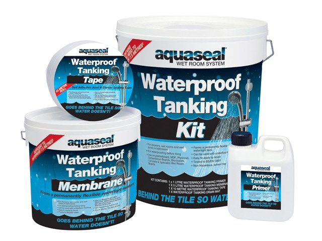 Aquaseal Wet Room System Kit 7.5m²