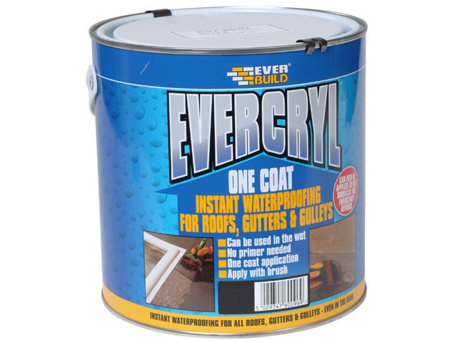 Evercryl One Coat Compound, Black 2.5kg