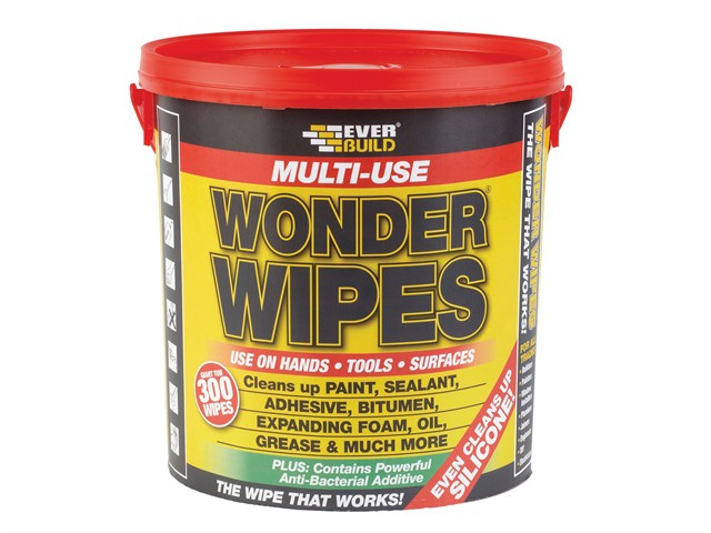 Giant Wonder Wipes Tub of 300