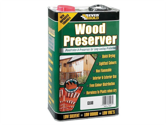 Wood Preserver Dark Oak 5 Litre