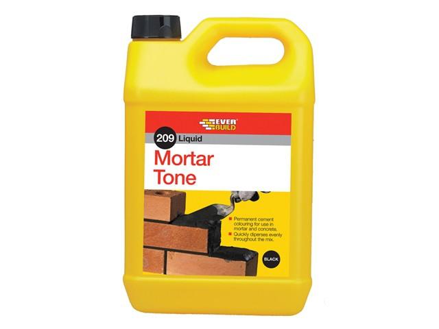 Liquid 209 Mortar Tone Black 1 Litre