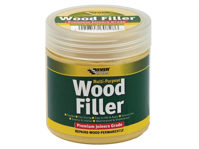 Multi-Purpose Premium Joiners Grade Wood Filler White 250ml