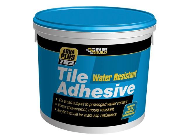 702 Water Resist Tile Adhesive 3.75kg/2.5 Litre