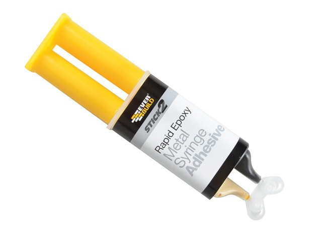 STICK2® Rapid Epoxy Metal Syringe 24ml