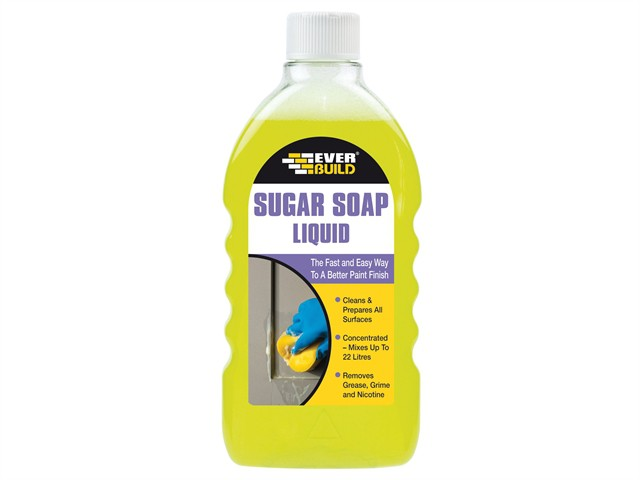 Sugar Soap Liquid Concentrate 500ml