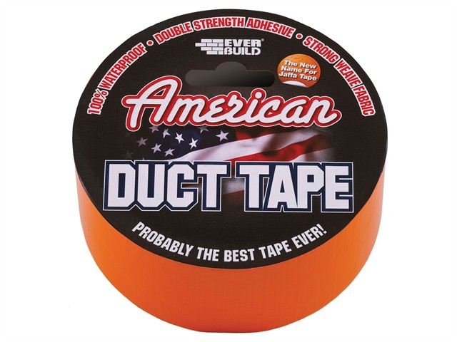 American Duct Tape Orange 50mm x 25m