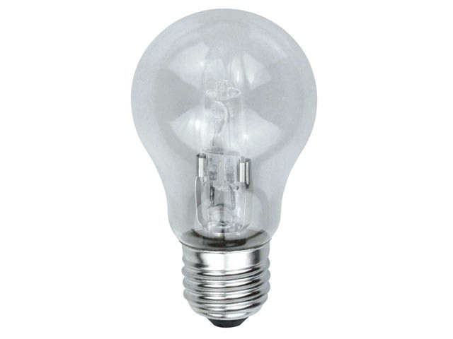 GLS Halogen Light Bulb 33 Watt (40 Watt) ES/E27 Edison Screw