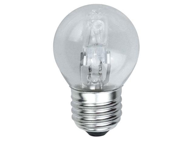 G45 Halogen Bulb 33 Watt (40 Watt) ES/E27 Edison Screw Box 1