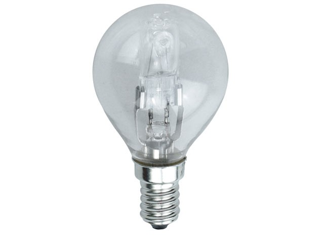G45 Halogen Bulb 33 Watt (40 Watt) SES/E14 Small Edison Screw Box 1