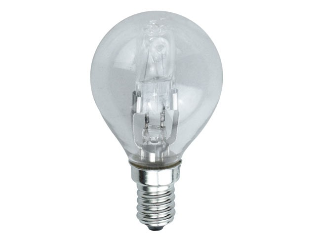 G45 Halogen Bulb 48 Watt (60 Watt) SES/E14 Small Edison Screw Box 1