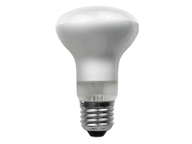 R63 Halogen Bulb 48 Watt (60 Watt) ES/E27 Edison Screw Box of 1