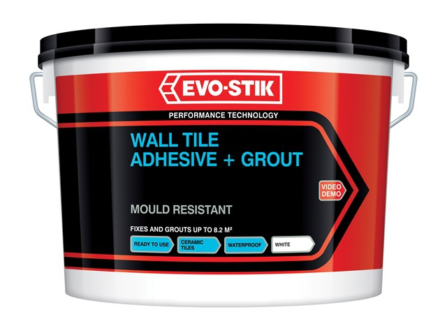 Mould Resistant Wall Tile Adhesive & Grout 1 Litre