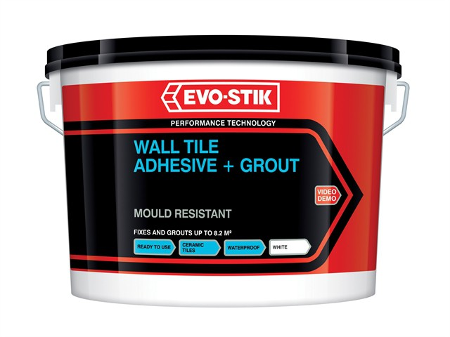 Mould Resistant Wall Tile Adhesive & Grout 10 Litre