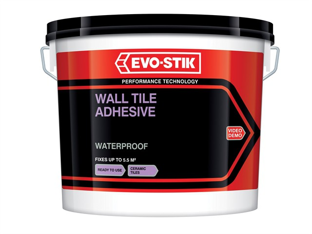Waterproof Wall Tile Adhesive 2.5 Litre