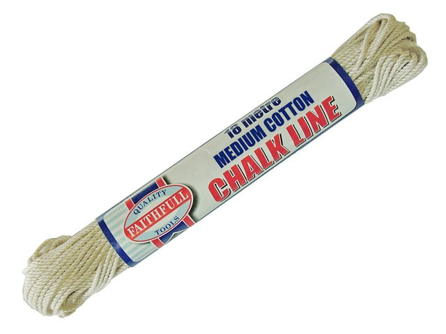 303 Medium Cotton Chalk Line 18m (Box of 12)