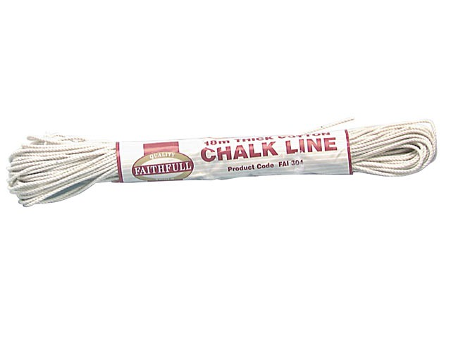 304 Thick Cotton Chalk Line 18m (Box of 12)