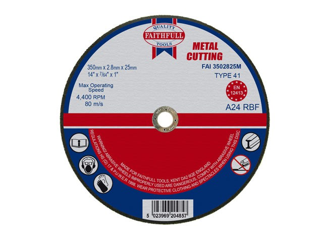 Metal Cut Off Disc 355 x 2.8 x 25.4mm