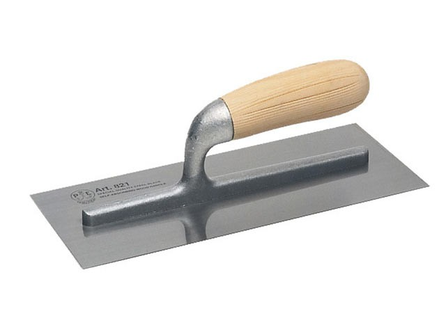 821 Plastering Trowel Wooden Handle 11 x 4.3/4in