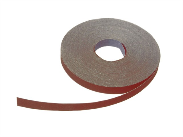 Aluminium Oxide Cloth Sanding Roll 50m x 25mm 80g