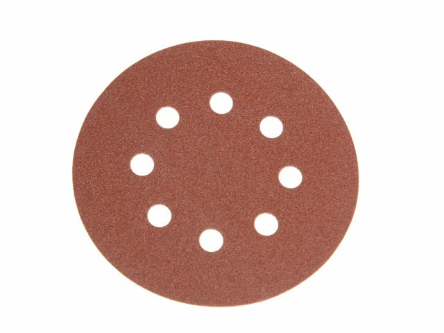 Hook & Loop Sanding Disc DID3 Holed 125mm x 240g (Pack of 25)