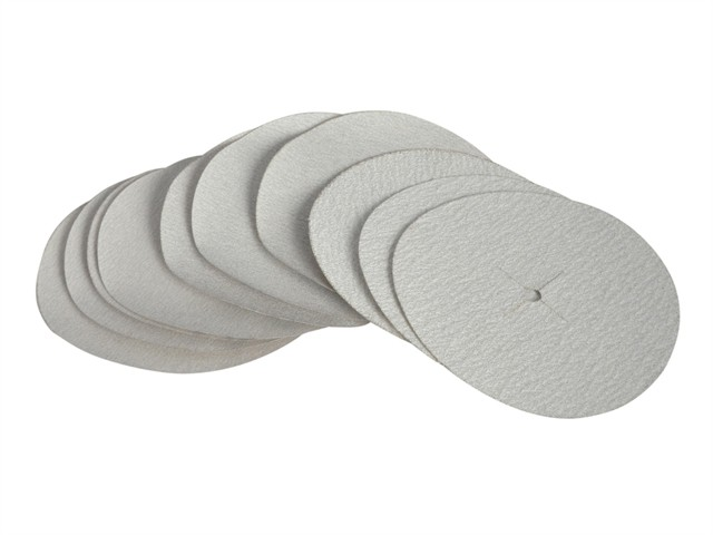 Paper Sanding Disc 6 x 125mm Assorted (Pack of 10)