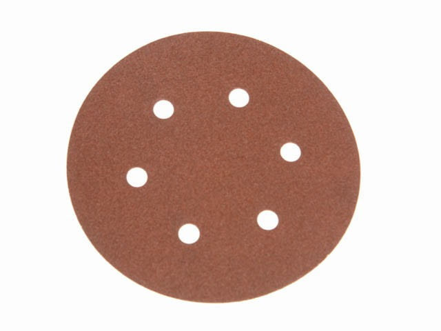 Hook & Loop Sanding Disc DID2 Holed 150mm x 80g (Pack of 25)