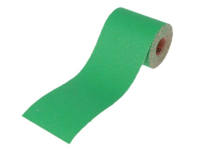 Aluminium Oxide Sanding Paper Roll Green 115mm x 10m 80g