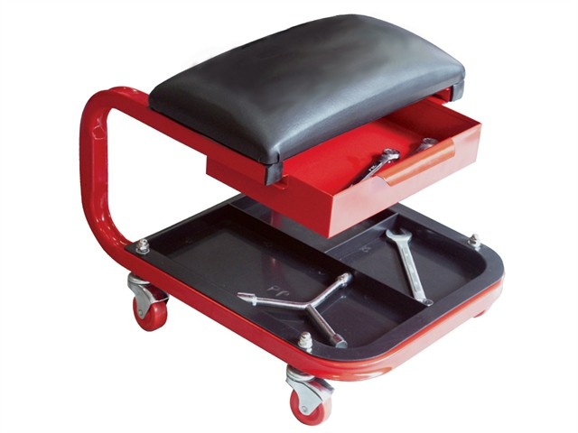 Seat On Wheels C/W Tray & Drawer