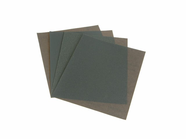 Wet & Dry Paper Sanding Sheets 230 x 280mm Assorted (4)
